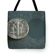 Coin Containing Silver Inhibits Tote Bag