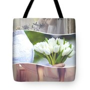 Collage Of Wedding Time Sensational Tote Bag