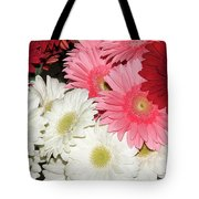 Colorful Gerber Tote Bag