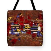 Colourful Abstract Painting Tote Bag