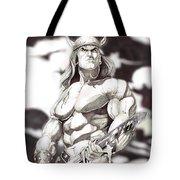 Conan The Barbarian Tote Bag