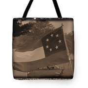 Confederate Camp Tote Bag