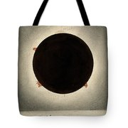 Corona Of The Sun During Total Eclipse Tote Bag