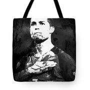 Cristiano Ronaldo Oki Tote Bag