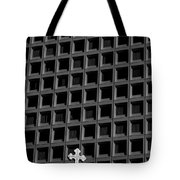 Cross And Building Tote Bag