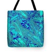 Croton Series - Blue Tote Bag