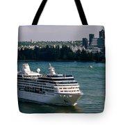 Cruise Ship 4 Tote Bag