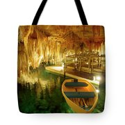Crystal Cave In Hamilton Parish Bermuda Tote Bag