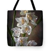 Cymbidium Cluster Tote Bag