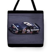 Dale Earnhardt # 3 Goodwrench Chevrolet At Daytona Tote Bag