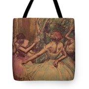 Dancers In The Wings Tote Bag