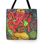 Dancing Ganesha Tote Bag