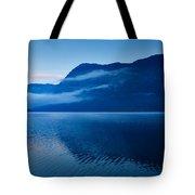 Dawn At Lake Bohinj In Slovenia Tote Bag