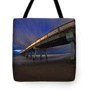 Deerfield Beach, Florida Pier Tote Bag