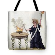 Demonology, 18th Century Tote Bag