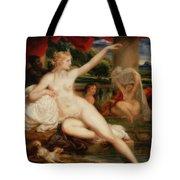 Diana At The Bath Tote Bag