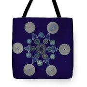 Diatom Arrangement Tote Bag by M. I. Walker