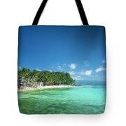 Diniwid Beach In Tropical Paradise Boracay Philippines Tote Bag