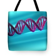 Dna Structure Tote Bag