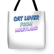 Dog Lover From Maryland Tote Bag