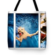 Dog Underwater Series Tote Bag