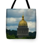 Dome Of Gold Tote Bag