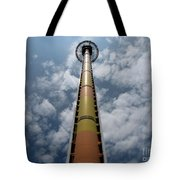 Drop Tower Tote Bag