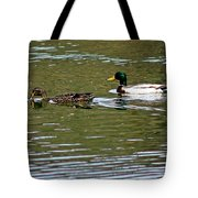 2 Ducks Tote Bag