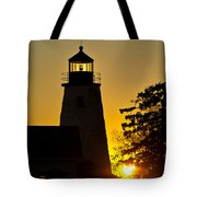 Dyce Head Lighthouse Tote Bag