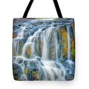 Early Morning At The Upper Falls Tote Bag