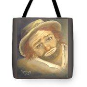 Emmett Kelly Tote Bag