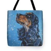 English Cocker Spaniel Tote Bag by Lee Ann Shepard