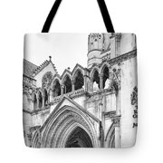 Entrance To Royal Courts Of Justice London Tote Bag