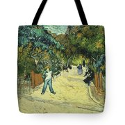 Entrance To The Public Gardens In Arle Tote Bag