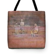 Episode Before An Arab Town Tote Bag