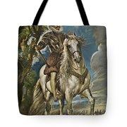 Equestrian Portrait Of The Duke Of Lerma Tote Bag