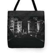 Evening In Hamburg Tote Bag