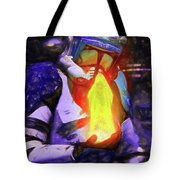 Execute Order 66 Blue Team Commander - Texturized Style Tote Bag