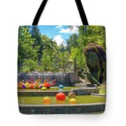 Chihuly Exhibition In The Atlanta Botanical Garden. #02 Tote Bag