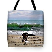 Expecting To Fly Tote Bag