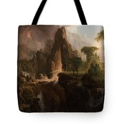 Expulsion From The Garden Of Eden  Tote Bag