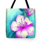 Fantasy Flowers Tote Bag