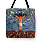 Father  Forgive  Them Tote Bag