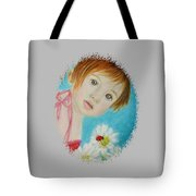 Felisa Little Angel Of Happiness And Luck Tote Bag
