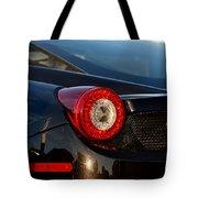Ferrari Tail Light Tote Bag