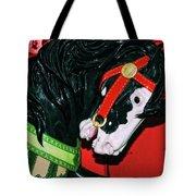 Fiery Stallion Tote Bag