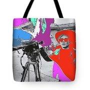 Film Homage Andy Warhol Lonesome Cowboys Old Tucson Arizona 1968-2013 Tote Bag