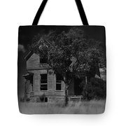 Film Homage Anthony Perkins Janet Leigh Alfred Hitchcock Psycho 1960 Vacant House Black Hills Sd '65 Tote Bag