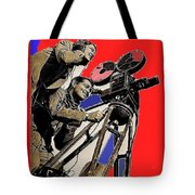 Film Homage Clark Gable Myrna Loy Too Hot To Handle 1938 Toning Color Added 2008 Tote Bag