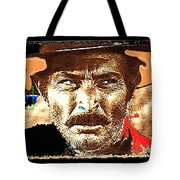 Film Homage Lee Van Cleef Spaghetti Westerns Publicity Photo Collage 1966-2008 Tote Bag